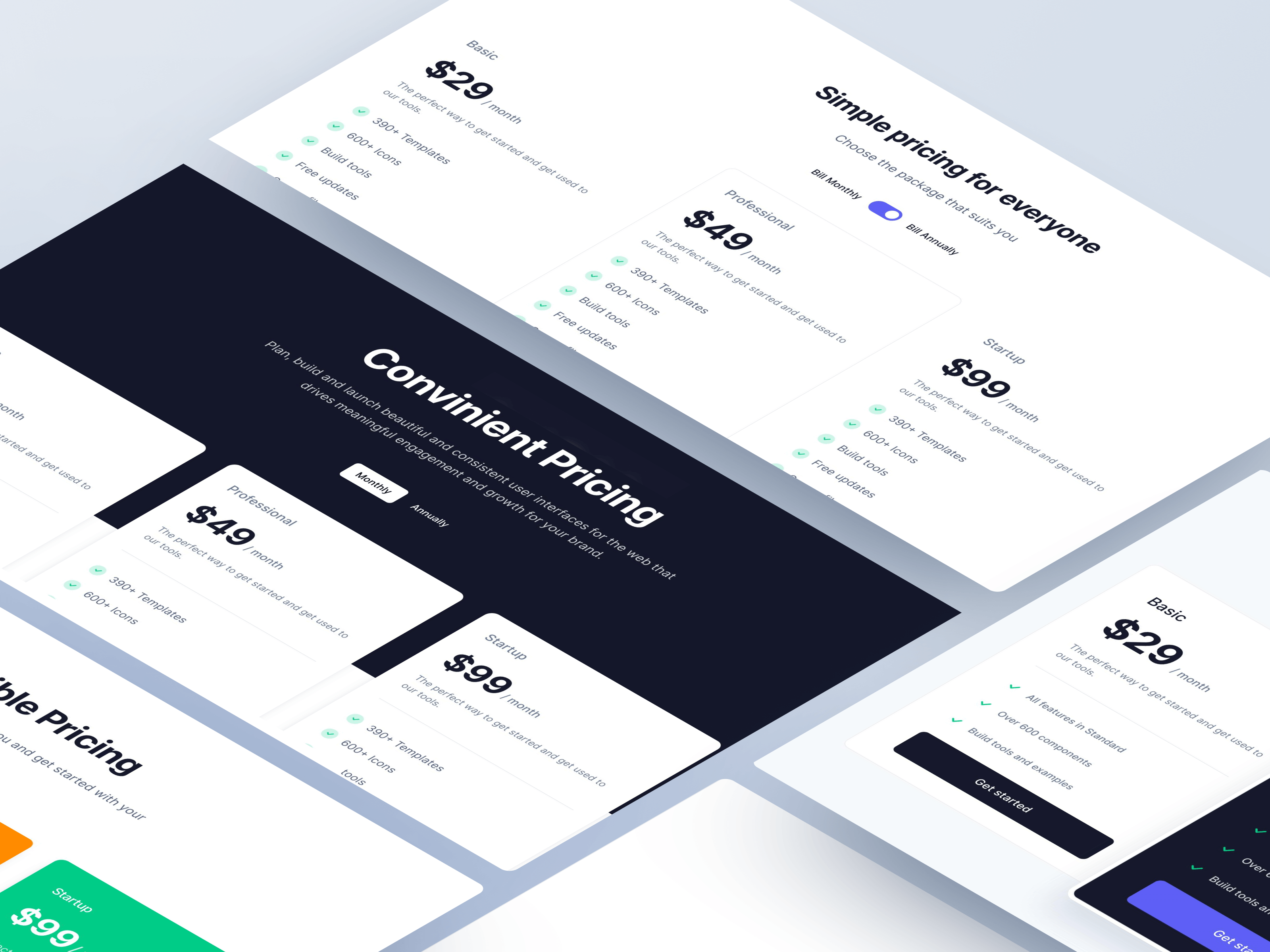 Bootstrap Pricing Templates