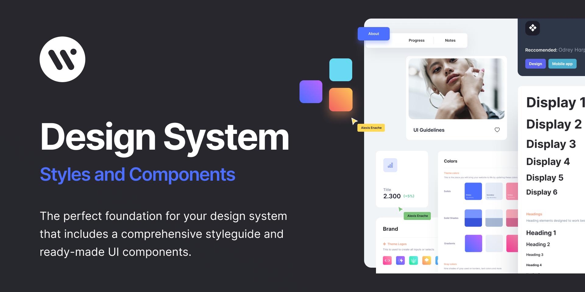 Webpixel Design System for Figma